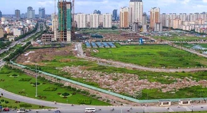 Khung giá đất đô thị Hà Nội điều chỉnh tăng