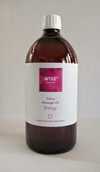 organiczny olej do masażu energetycznego