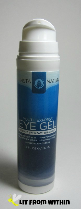 Insta-Natural Youth Express Eye Gel pump dispenser