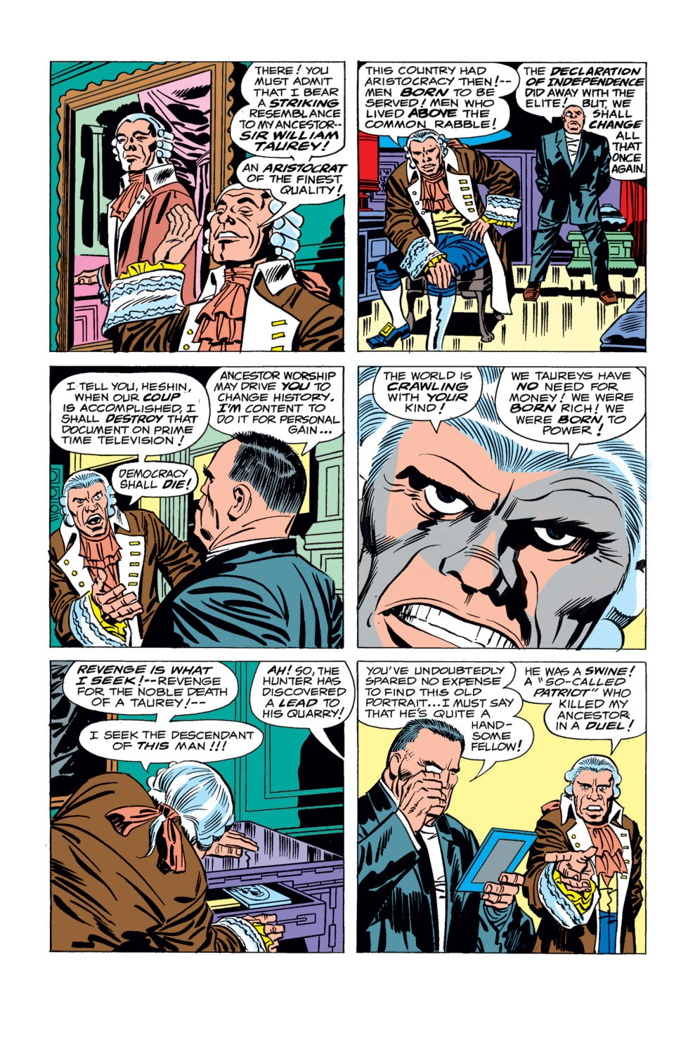 Captain America (1968) Issue #194 #108 - English 6