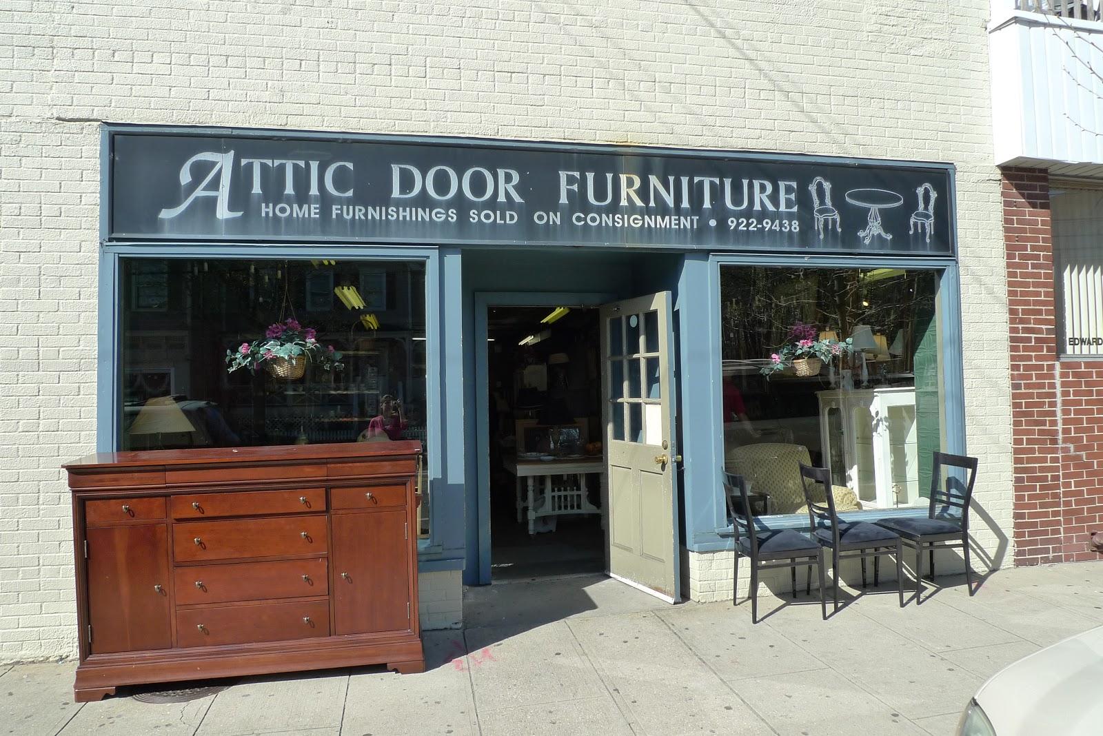 Attic Door Furniture - 33 East Main Street Oyster Bay NY & Wares On Wednesdays: Attic Door Furniture - 33 East Main Street ...