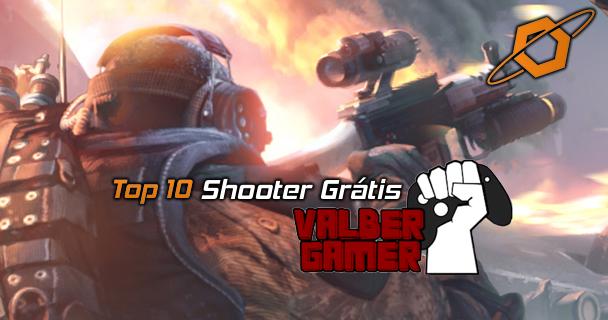 Top 10 Shooter Grátis em vídeo com Valber gamer