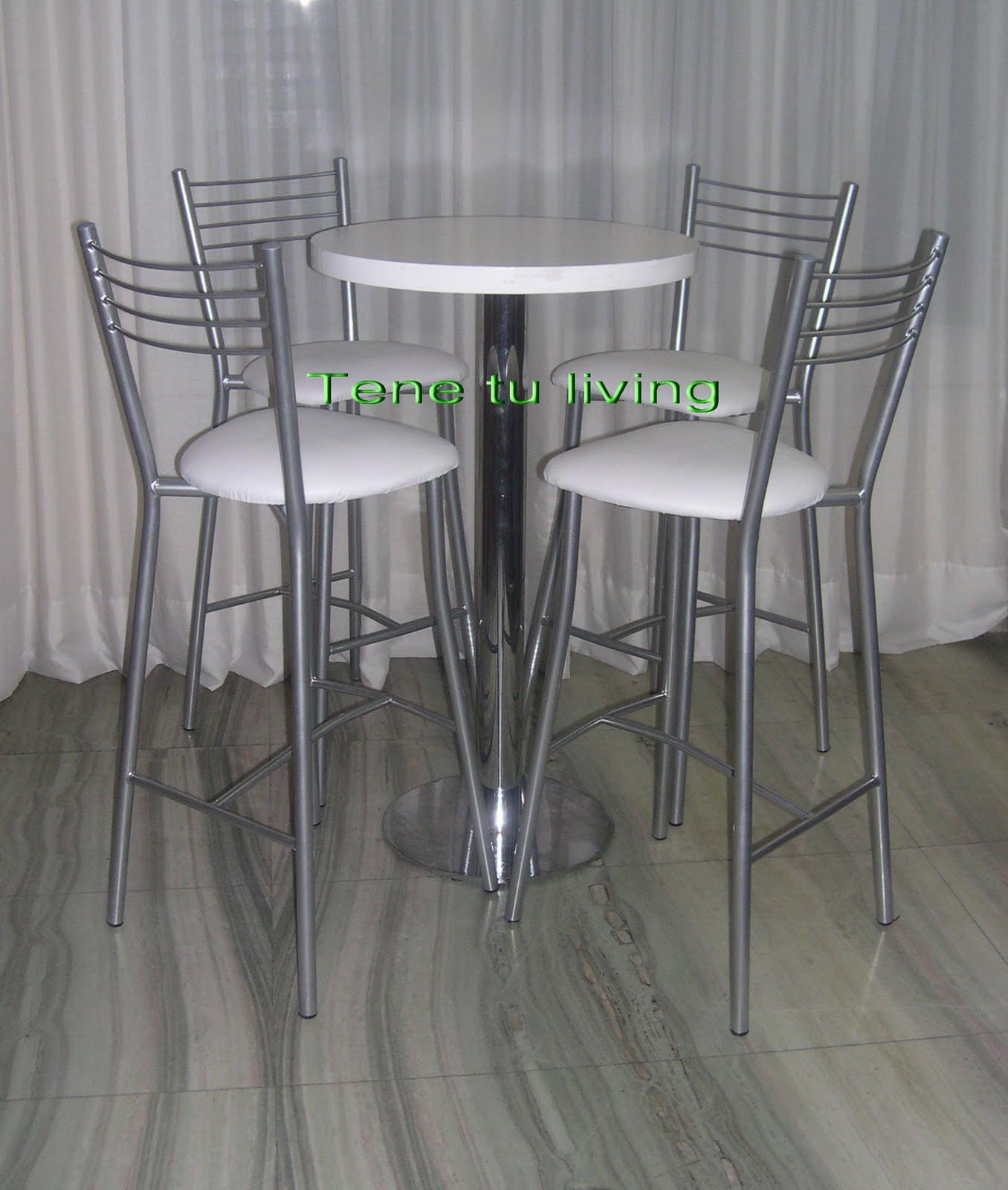 Tene tu living alquiler de mesas y sillas altas para eventos for Sillas empresariales