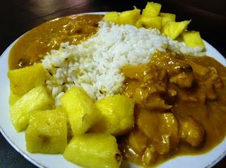 pollo curry-arroz basmati-comosinoexistieraelmañana