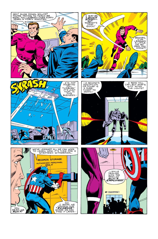 Captain America (1968) Issue #291 #207 - English 20