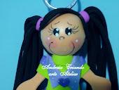 chaveiro boneca fofucha