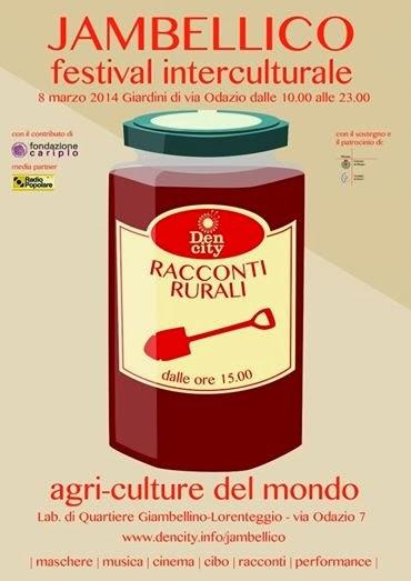 eventi per il Festival interculturale Jambellico, sabato 8 marzo a Milano