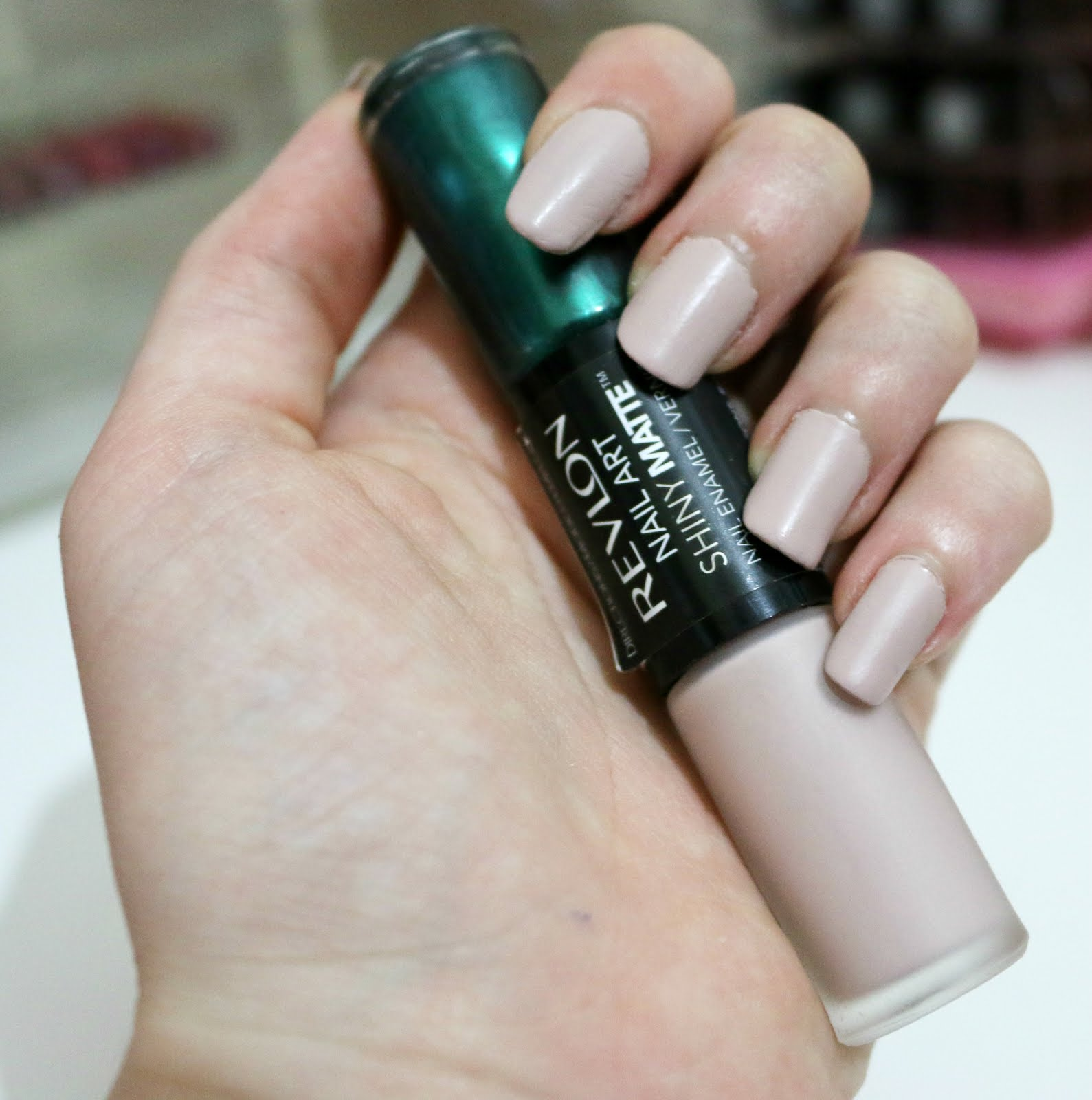 Revlon Nail Art Shiny Matte Duo Review The Lipstick Hub The