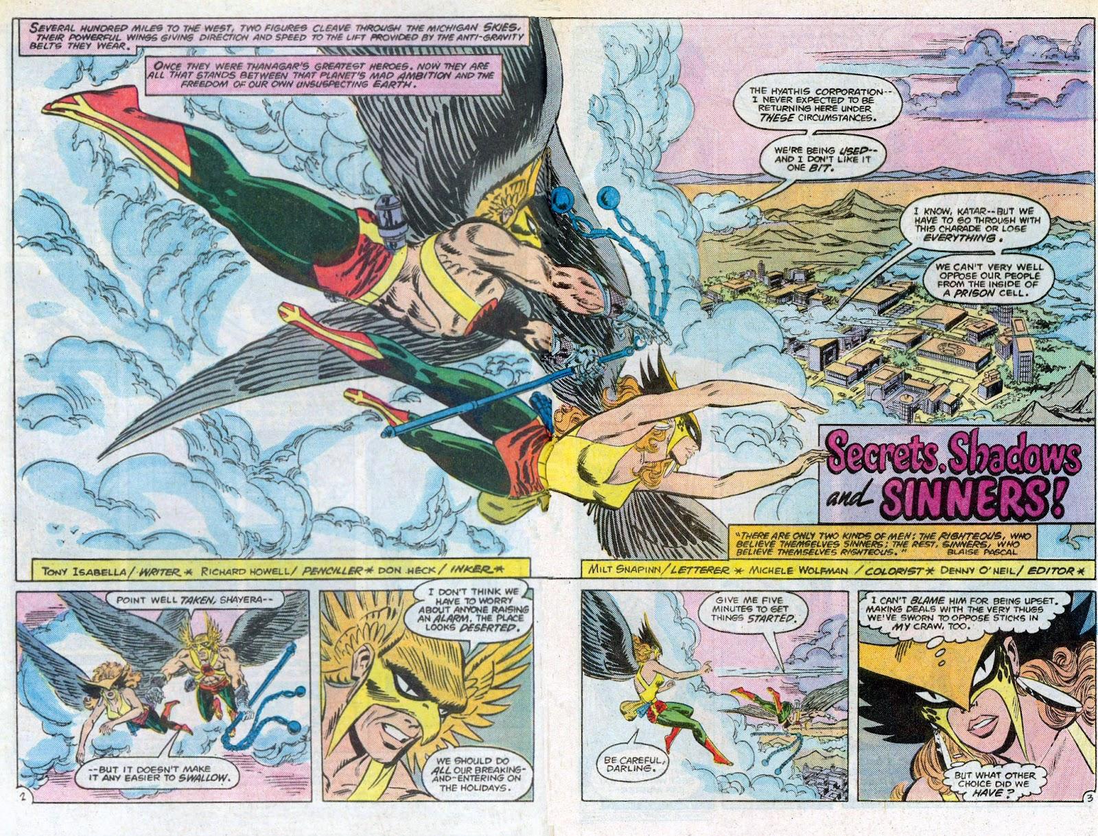 Hawkman (1986) Issue #3 #3 - English 4