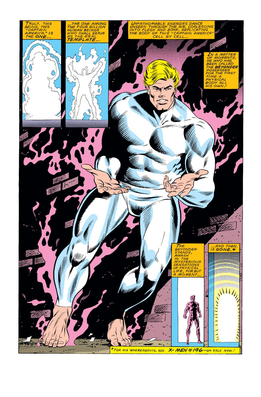 Captain America (1968) Issue #308 #236 - English 21