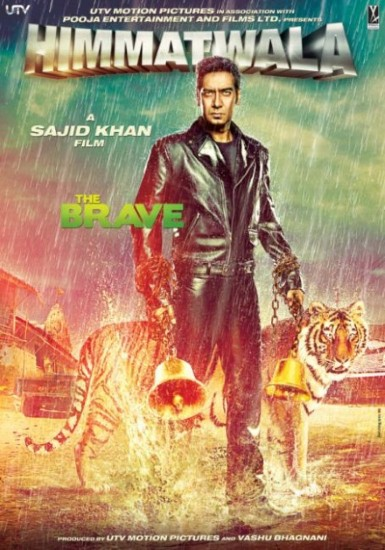 First Look: Ajay Devgn and Tamanna in 'Himmatwala'