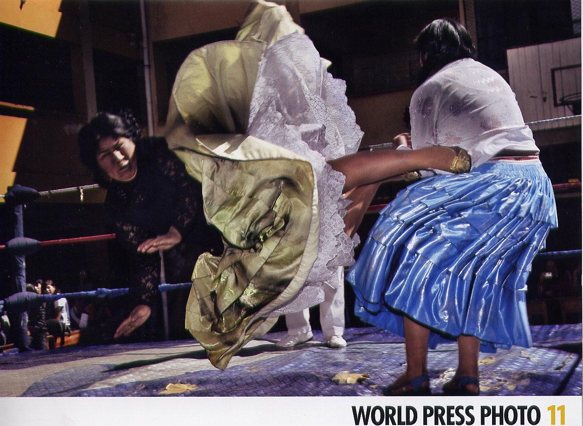 La Lucha Libre de Mujeres en Bolivia!