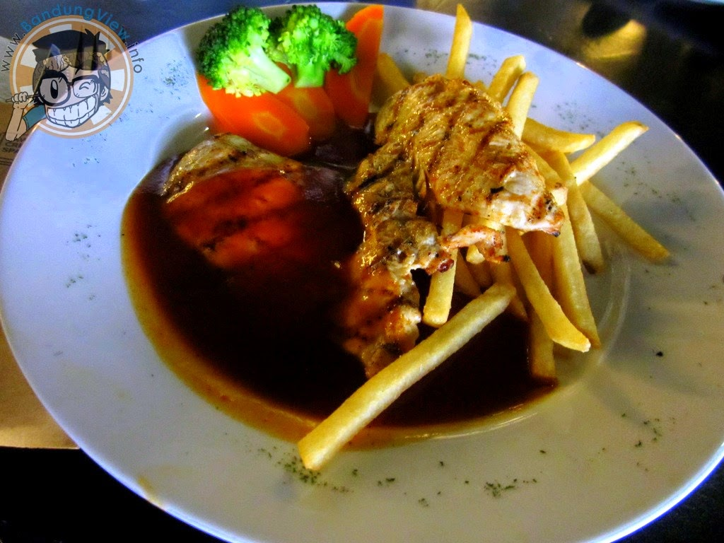 Chicken steak lawangwangi