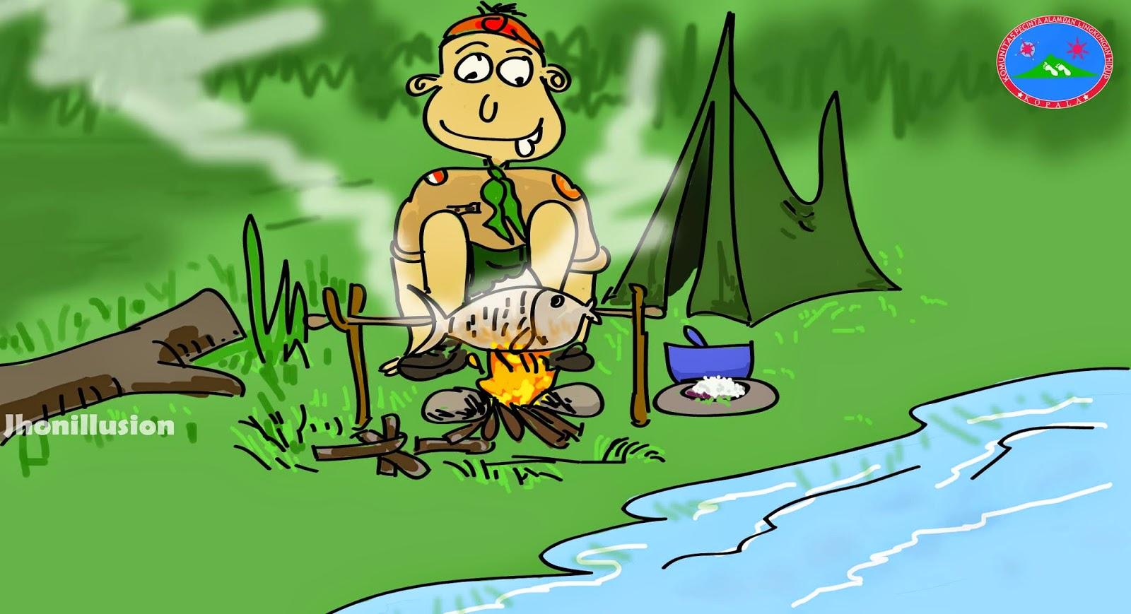 bakar-ikan-camping
