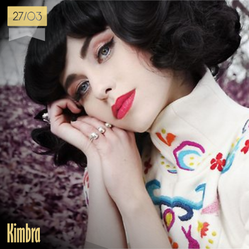 27 de marzo | Kimbra - @kimbramusic | Info + vídeos