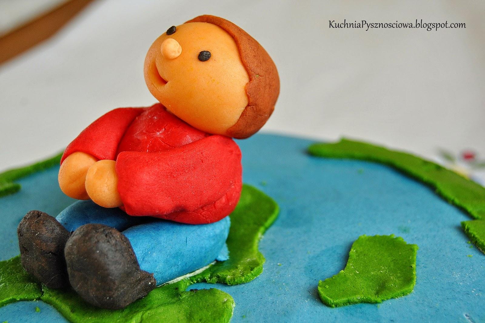 Tort z dzieciaczkiem dla dzieciaczków