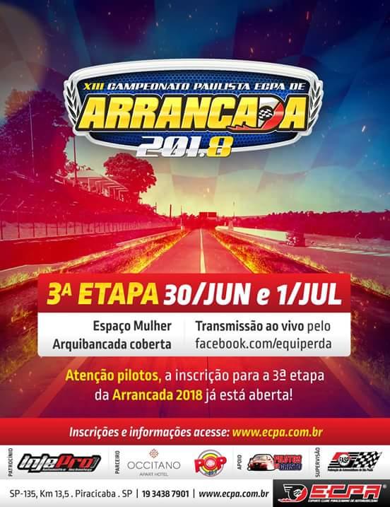 3ª Etapa Paulista de Arrancada