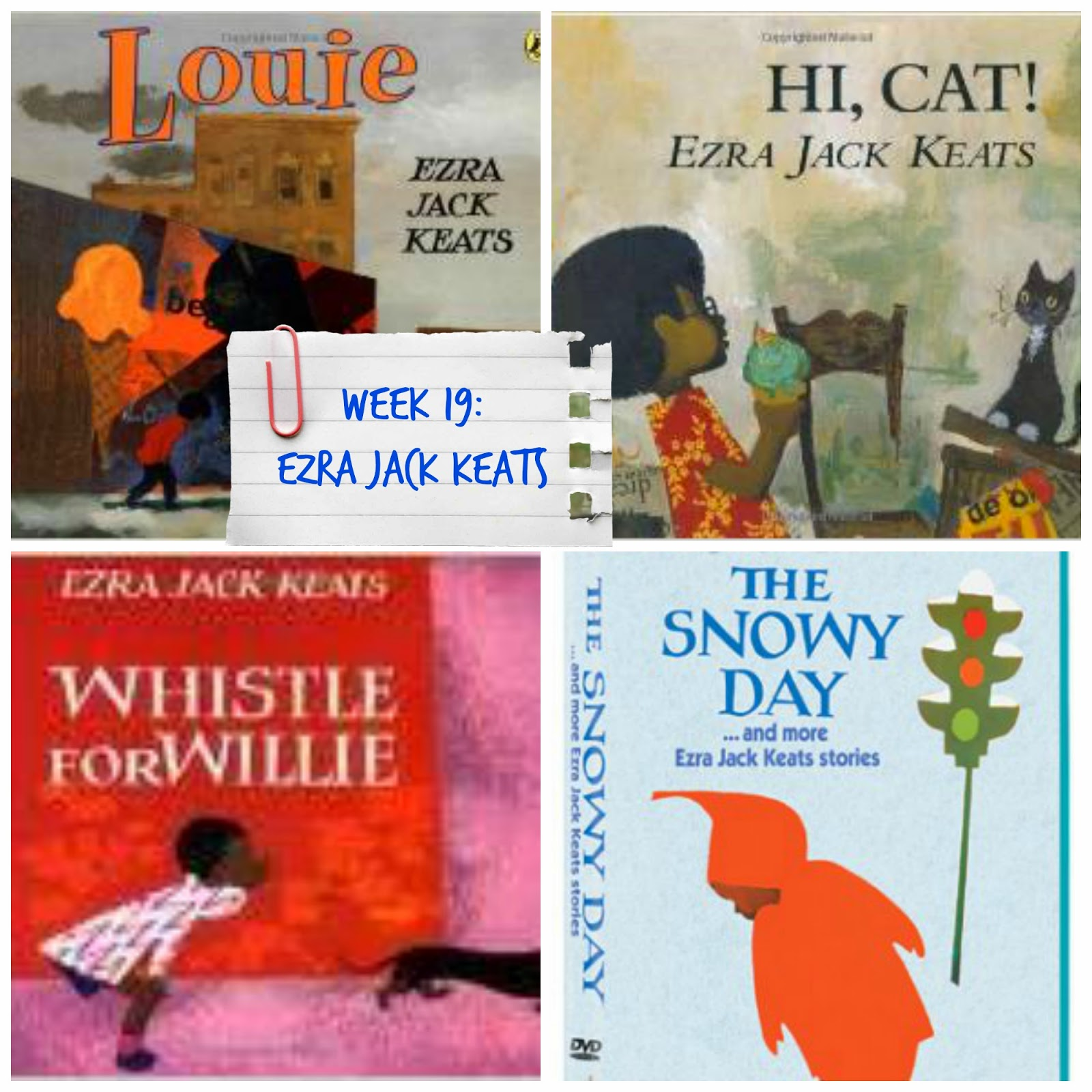 Ezra Jack Keats Books and Activities