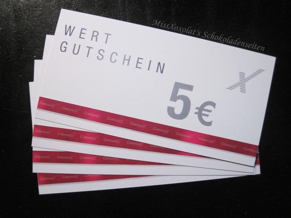 20,- Kino Gutschein von CinemaxX