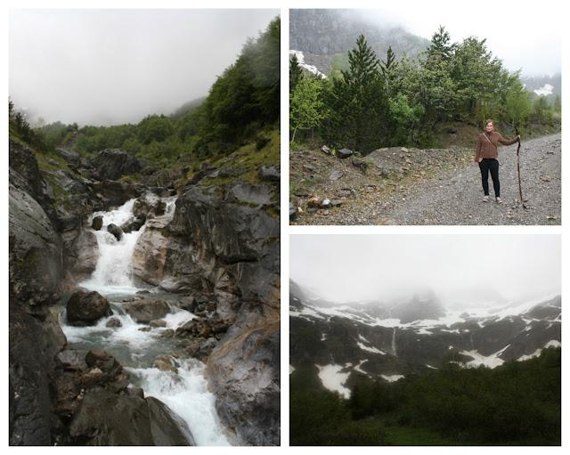 Pireneje wodospad