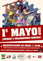 1º de Mayo de unidad obrera combativa y solidaria, presentación de movilización el jueves 25 de abr