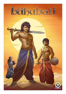Rajamouli Rana Prabhas Baahubali Now its a comics, animation, video games