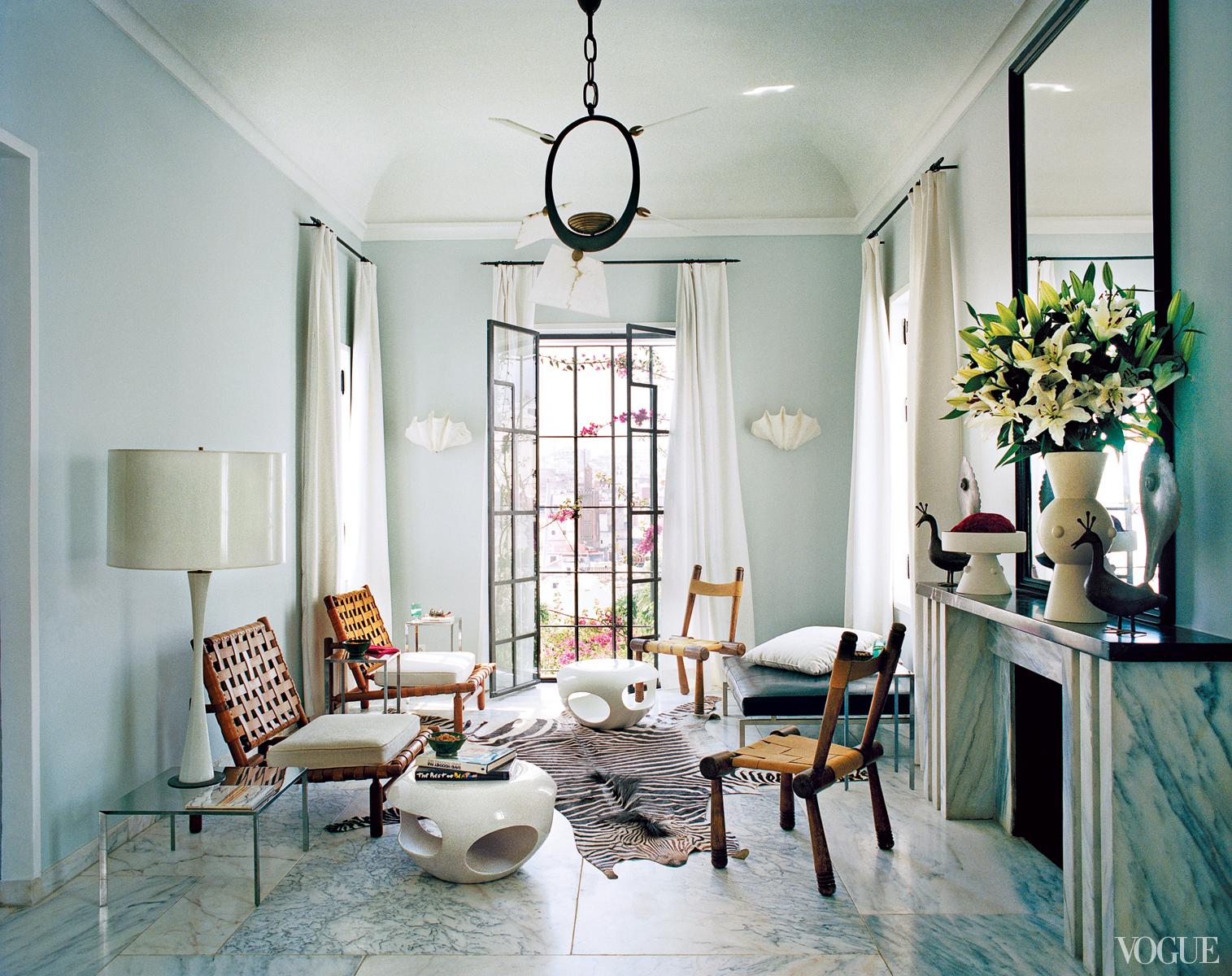 Bruno Frisoni\'s Moroccan home |
