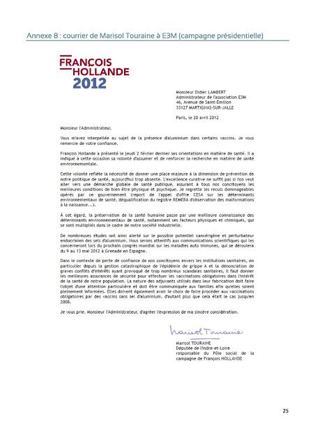 La pétition du professeur Joyeux contre la vaccination forcée fait grincer des dents les médias et la ministre de la santé Ob_755bc4_courrier-de-marisol-touraine-a-e3m