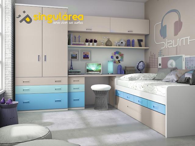 Blog dormitorios juveniles valencia qu colores se - Imagenes dormitorios juveniles ...