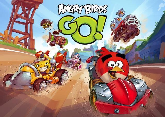 Free Download Angry Birds Go Untuk PC Gratis