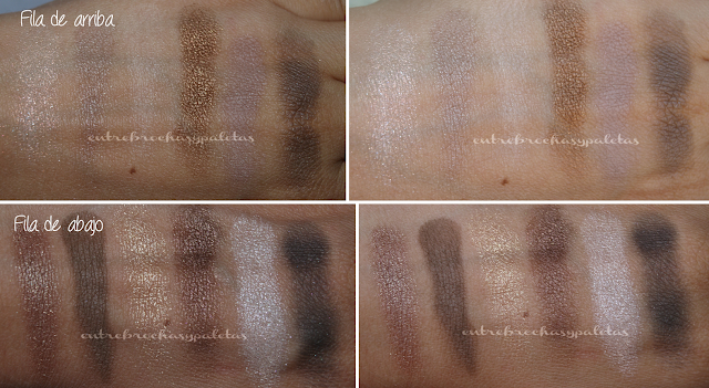the nudes palette maybelline