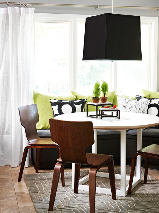 Gray Dining Room Color Scheme