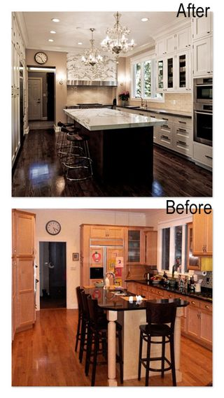 ceiling fan designer social: before & after interior design