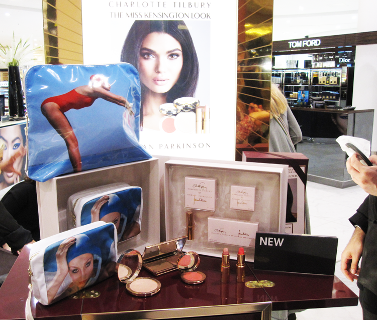 New Charlotte Tilbury counter at Selfridges, Trafford Center, Manchester