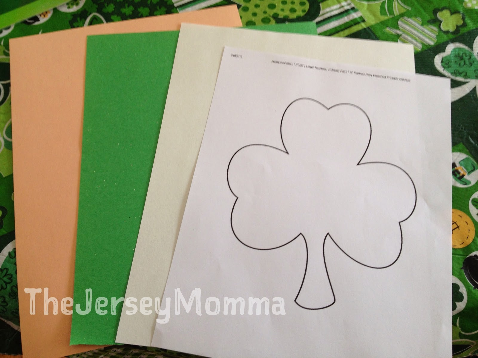 the jersey momma st patrick u0027s day crafts simple shamrock angels