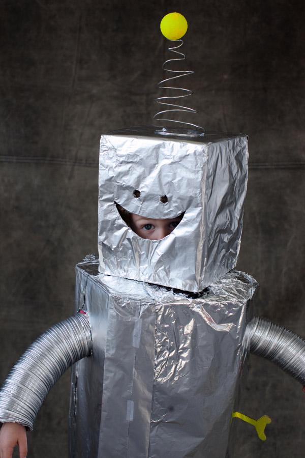 mascara robot