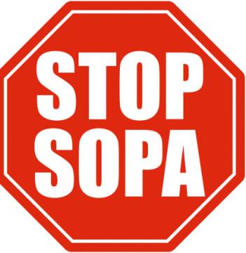 Wikipedia заявила протест против SOPA