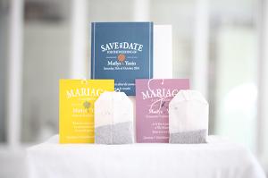 ♥ mariage, modèle sachet de thé