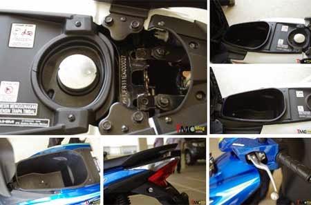 gambar bagasi Honda BeAT eSP