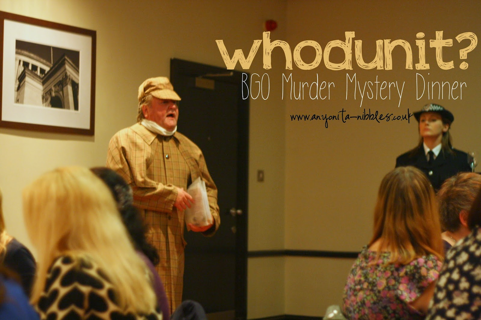 Ask yourself whodunit? at one of BGO's fantastic murder mystery dinners | Anyonita-Nibbles.co.uk