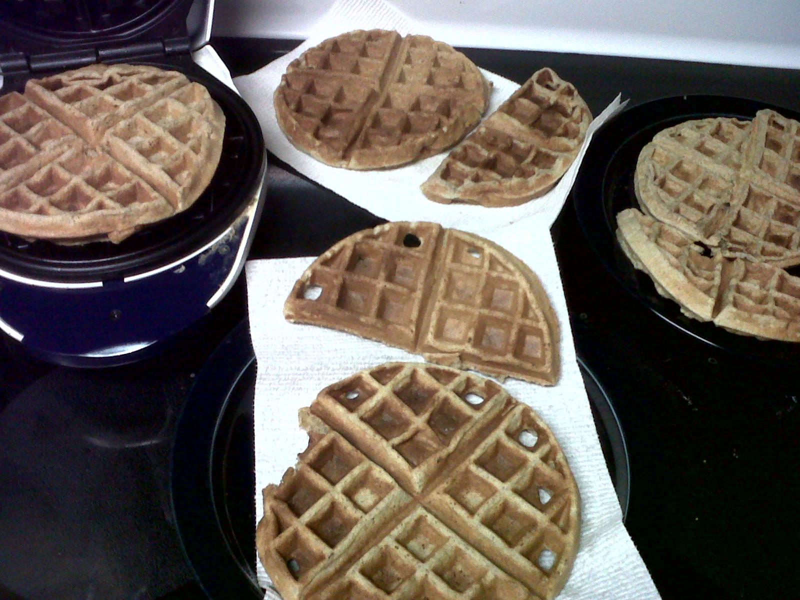 ... Crocodile: Sour Cream Oat And Buckwheat Flour (Gluten Free) Waffles