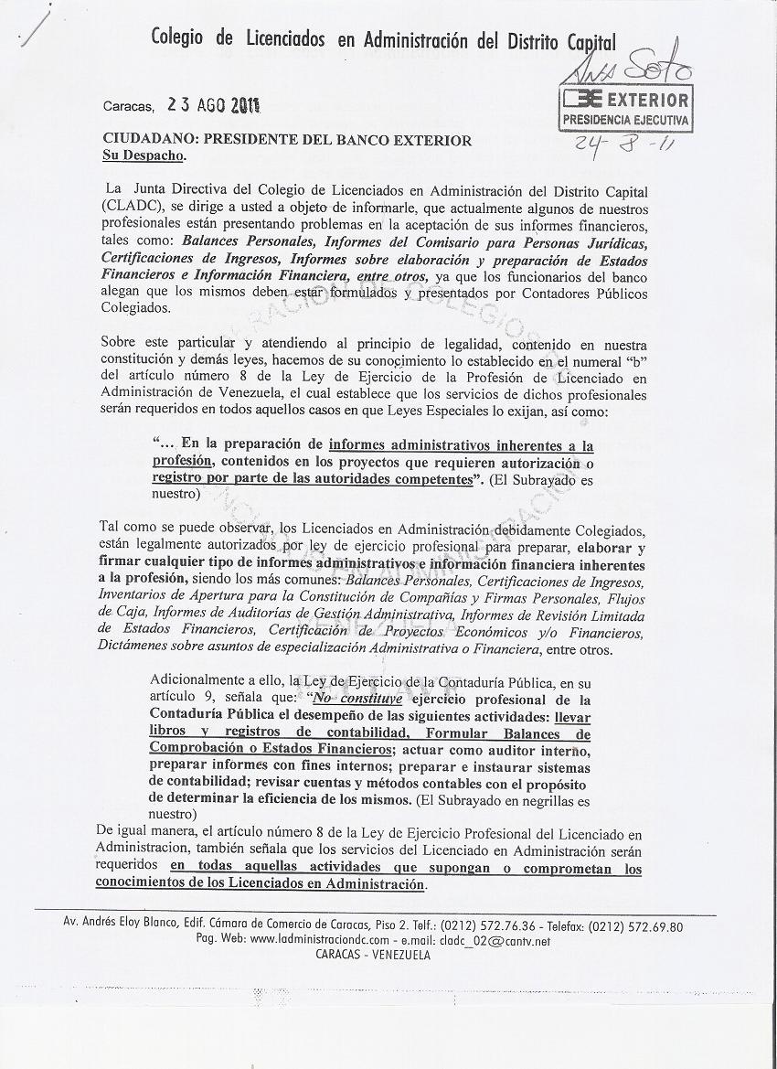 Banco exterior comunicaciones for Banco exterior venezuela