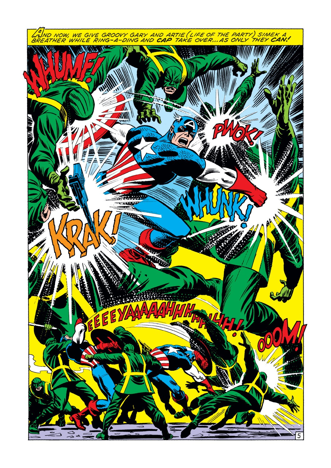 Captain America (1968) Issue #144 #58 - English 6