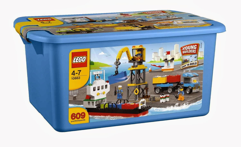 Set database lego 10663 lego creative chest - Boite de rangement pour lego ...