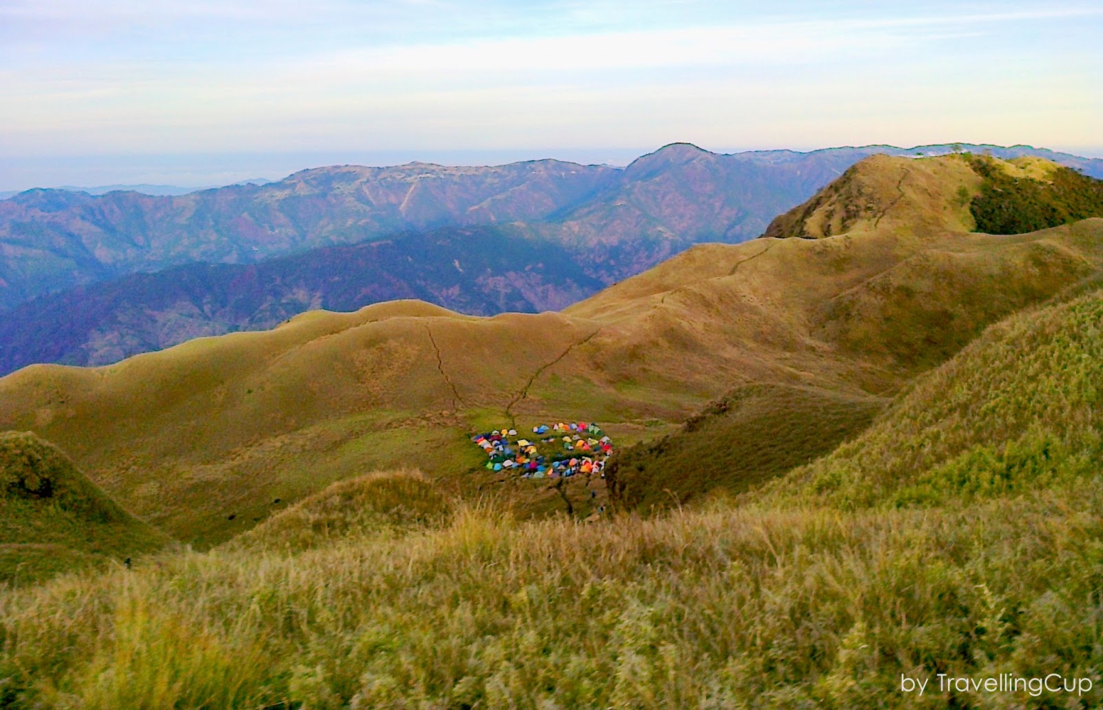 Mt. Pulag Camp site