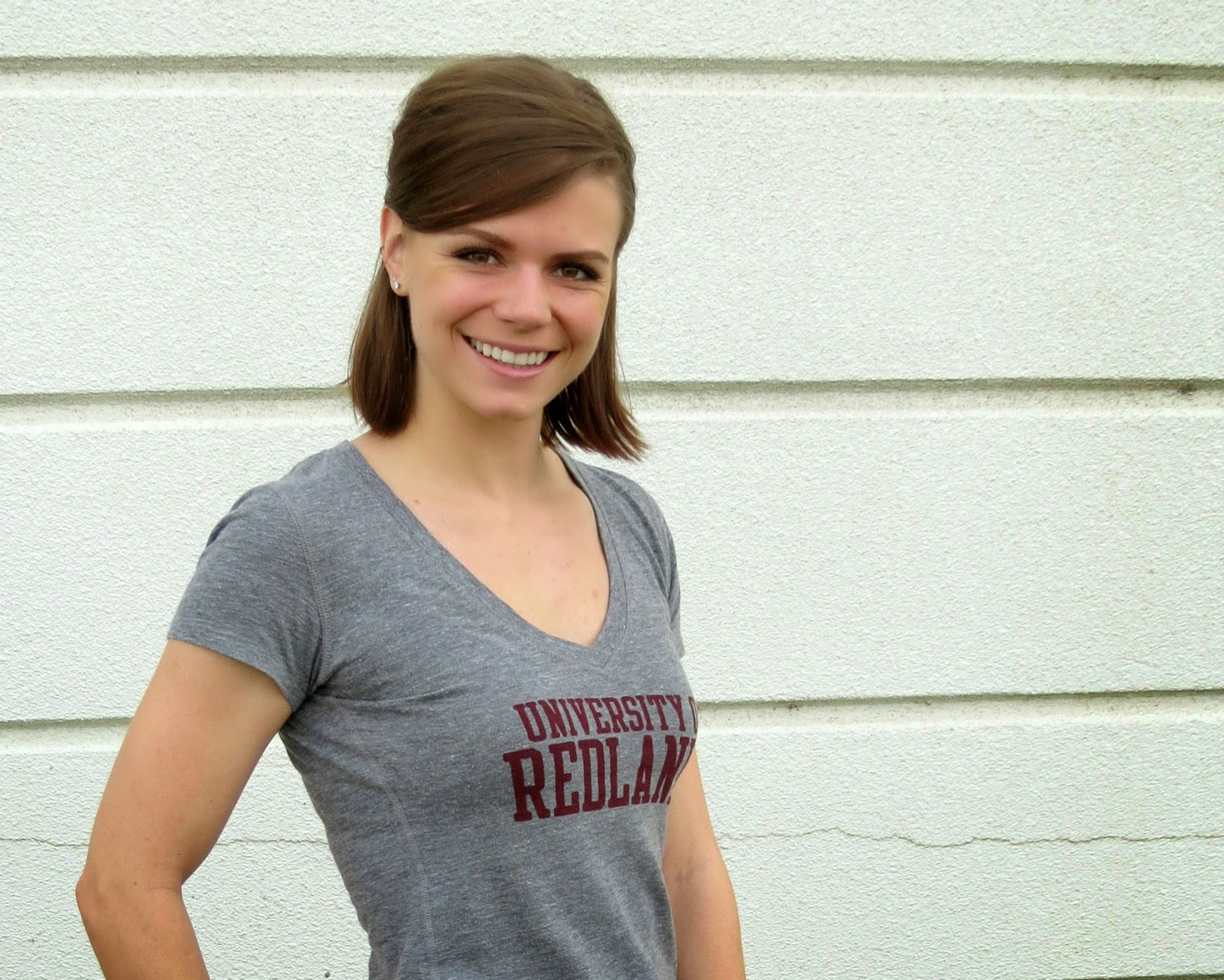 Sporty Casual, University of Redlands top