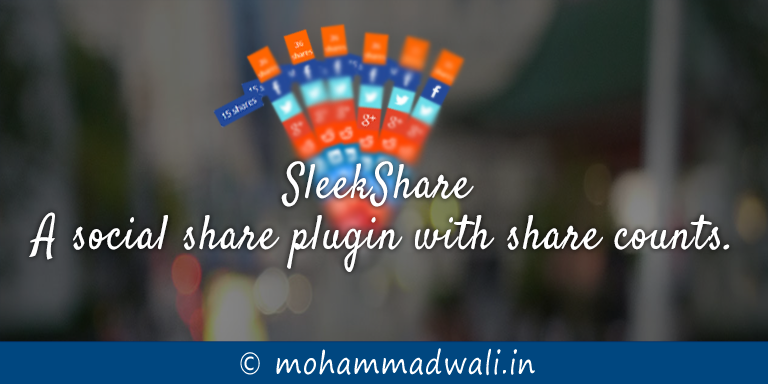 social share with counts