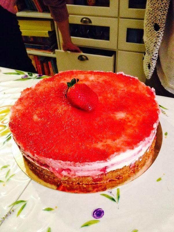 torta-fragole