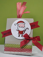 Stampin' Up! Color Me Christmas Gift Tag Book created by Hand Stamped Style, THANKS for checking out my PIN- for more STAMPTASTIC VIRTUAL RETREAT WEEKEND EVENT info head to my blog and FACEBOOK PAGE http://www.facebook.com/handstampedstyle