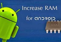 Increase RAM of Android
